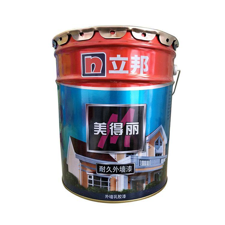 立邦漆美得丽耐久外墙乳胶漆 油漆涂料 净味墙面漆18L