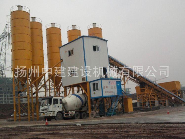 厂家生产供应 大型搅拌站 HZS90混凝搅拌站 小型搅拌站