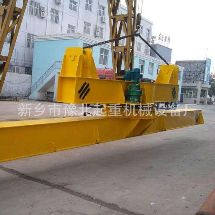 河南起重机电磁挂梁125T旋转行车吊梁非标重型吊钩吊具定做加工