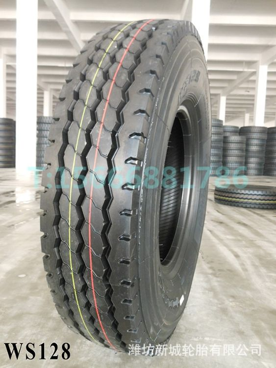 全新优盾 12.00R20全钢丝卡车客车轮胎1200R20三线花纹1200-20