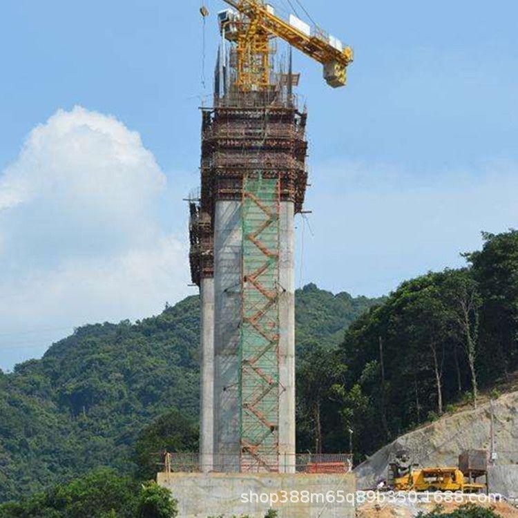 75型安全爬梯 桥墩施工组合式安全爬梯 香蕉式安全爬梯