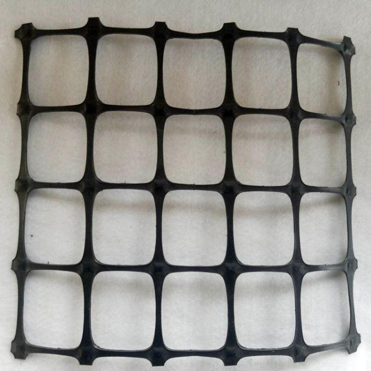 厂家直销土工格栅 可定制拉伸强度大耐腐蚀 双向拉伸塑料土工格栅