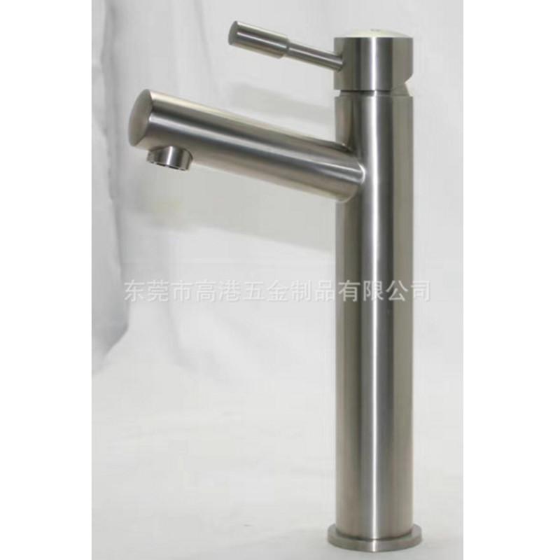 高档不锈钢冷热面盆水龙头厂家定制浴室水龙头洗衣机水龙头定制