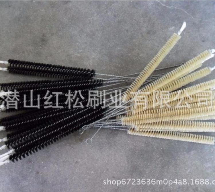 厂家批发管道刷 尼龙丝不锈钢丝毛刷 清洗抛光除尘除锈管道刷定制