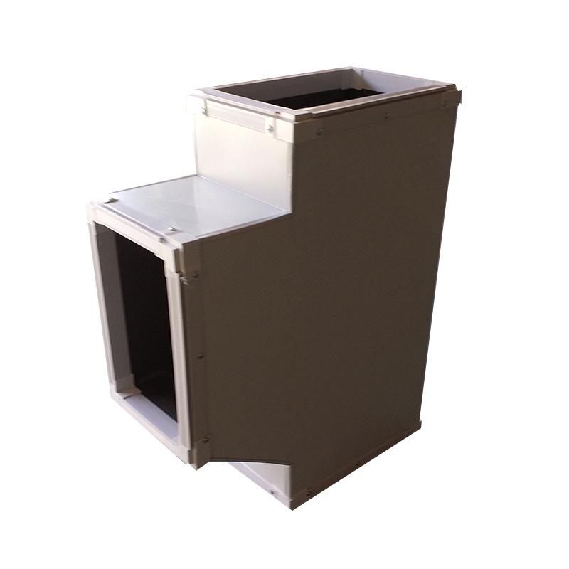 双面彩钢酚醛复合风管 厂家加工定制中央空调保温风管酚醛复合
