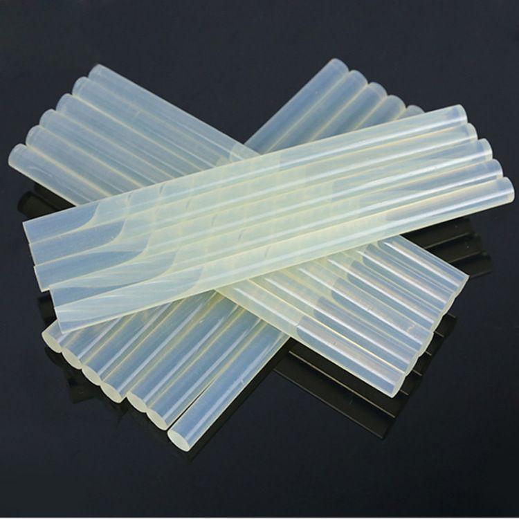 环保透明胶棒 畅销包装 无毒胶棒热熔胶11mm 高粘热熔胶棒大号
