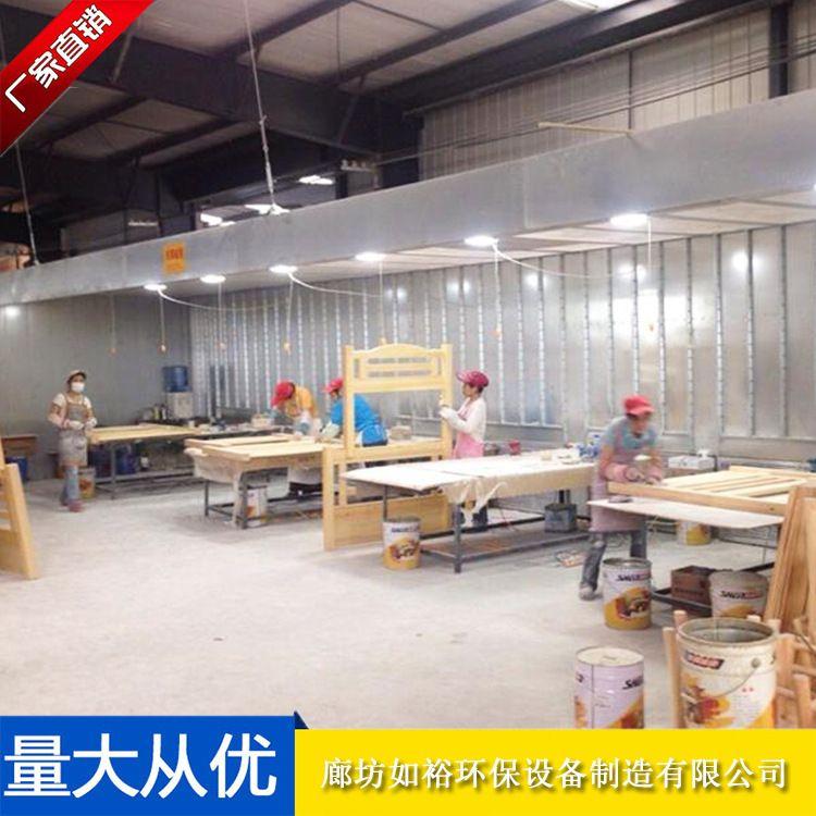家具木工打磨房  家具吸尘打磨台 打磨房打磨台 台面式打磨台