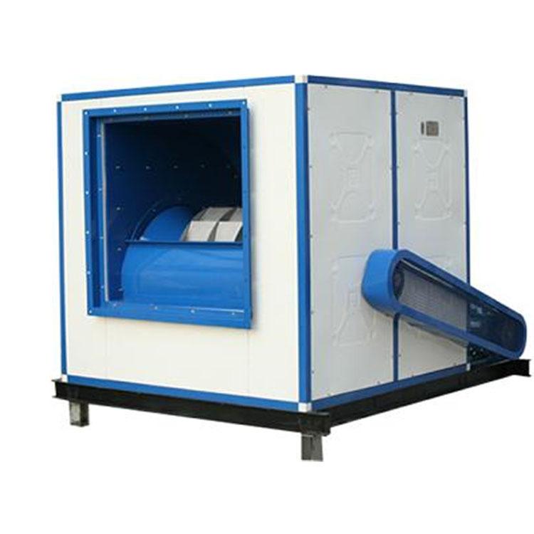 HTFC高温排烟风机箱 低噪声柜式离心风机 耐高温皮带传动风机箱
