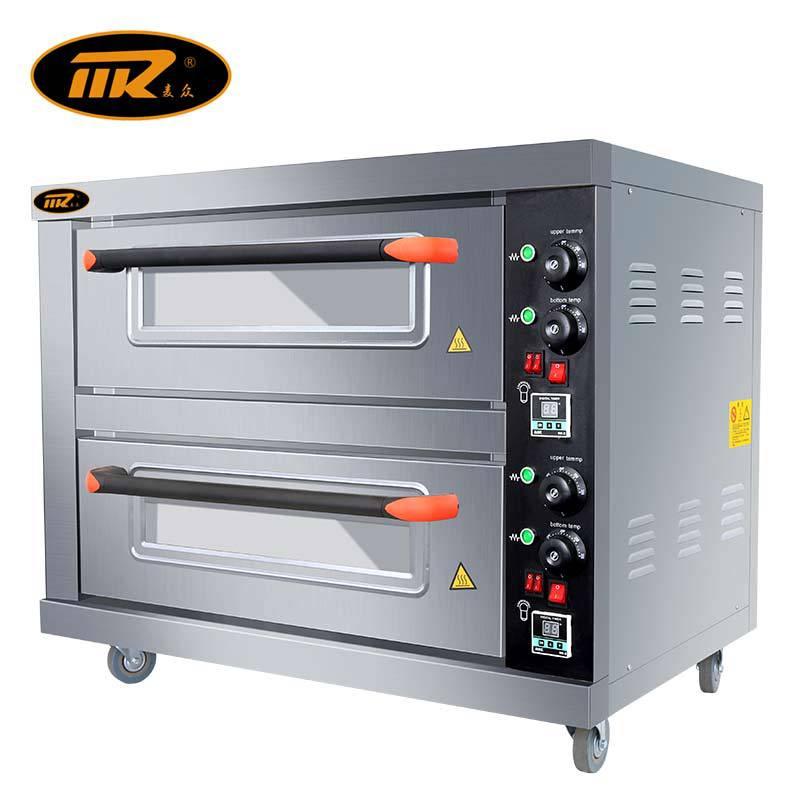 麦众烤箱一层二盘商用电烤箱烘焙披萨炉电烘炉双层烘焙烘炉烤箱
