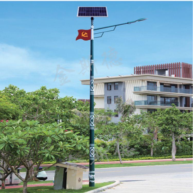 少数民族特色民族风太阳能路灯 定制花纹太阳能路灯 厂家直销路灯