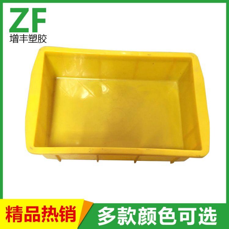 全新料塑料箱 东莞货物塑料周转箱 黄色周转箱