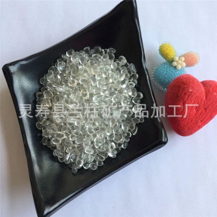厂家直销 透明玻璃珠 玻璃颗粒喷砂玻璃微珠 彩色玻璃砂