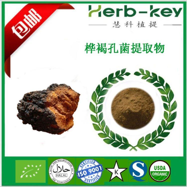 桦褐孔菌提取物 10:1 白桦茸提取物 慧科优质提取 实力卖家包邮