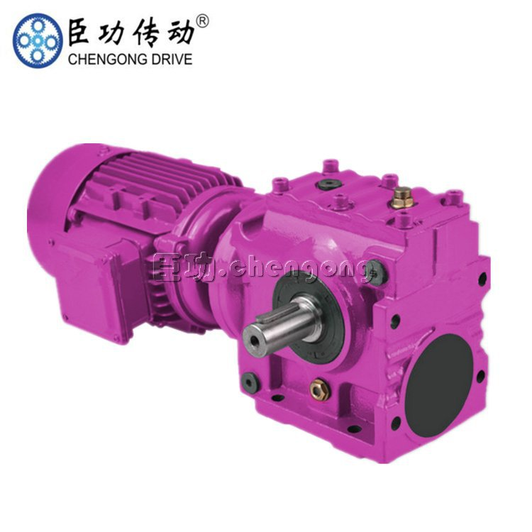 SCA37斜齿轮蜗轮蜗杆减速机