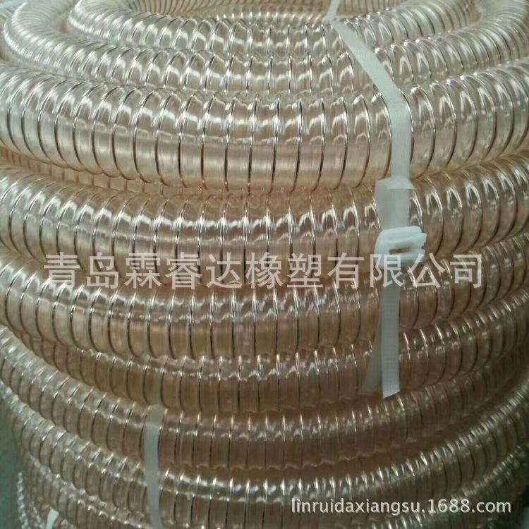 PU镀铜钢丝通风管 木器厂用 通风设备 矿场 钢丝通风管 各种型号