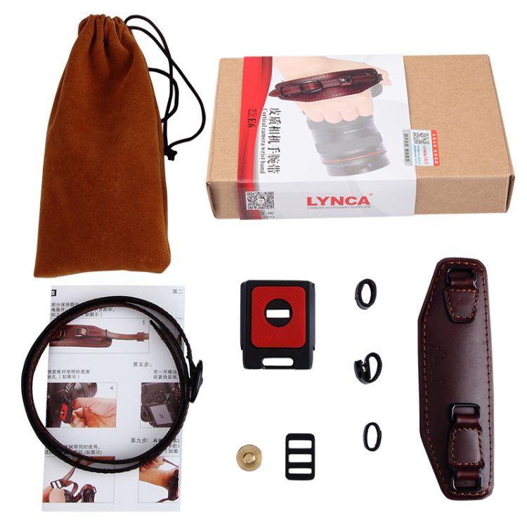 力影佳E6单反相机腕带 适用700D D7100腕带 相机手腕带 摄影配件