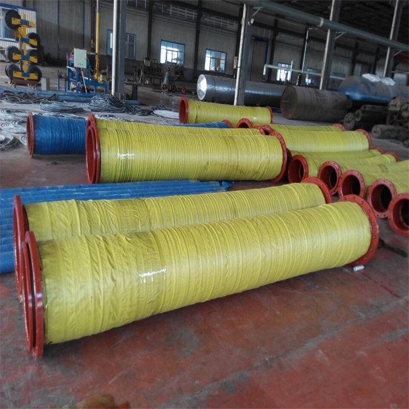 大口径水泵输水胶管 大口径钢丝胶管 橡胶管