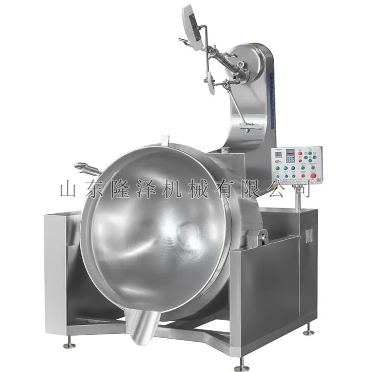全自动大型馅料炒锅 馅料搅拌机 豆沙馅搅拌机器厂家
