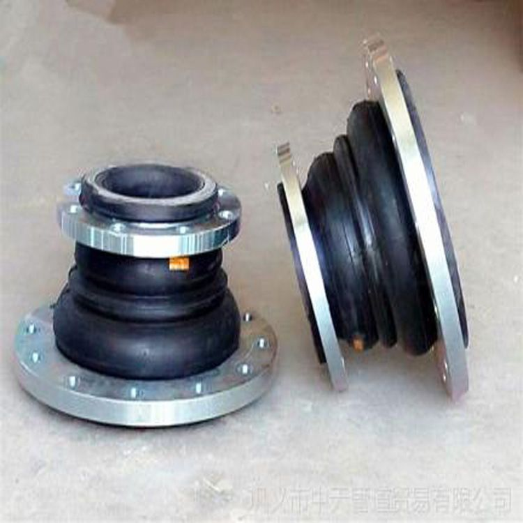 JGD异径橡胶软接头 橡胶补偿器  异径橡胶软连接生产加工