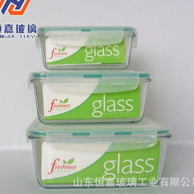 加工定做玻璃厨具  玻璃保鲜盒