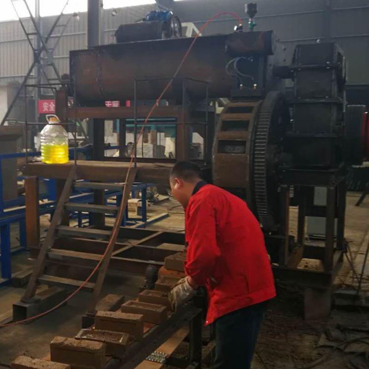 厂家直销刻字砖机 旋转砖机 压字制砖机砖瓦行业专用设备