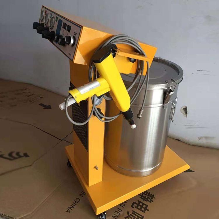 供应静电粉末喷涂机静电喷枪上粉率高 静电粉末喷塑设备