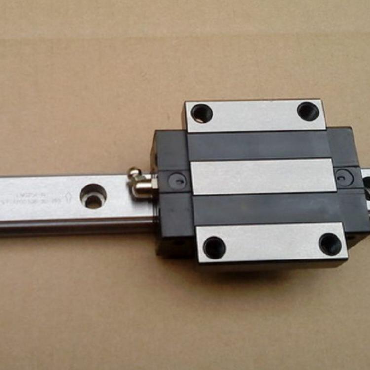 鼎瀚直线导轨高组装四方滑块 滑动滚滑轨低组装法兰滑块