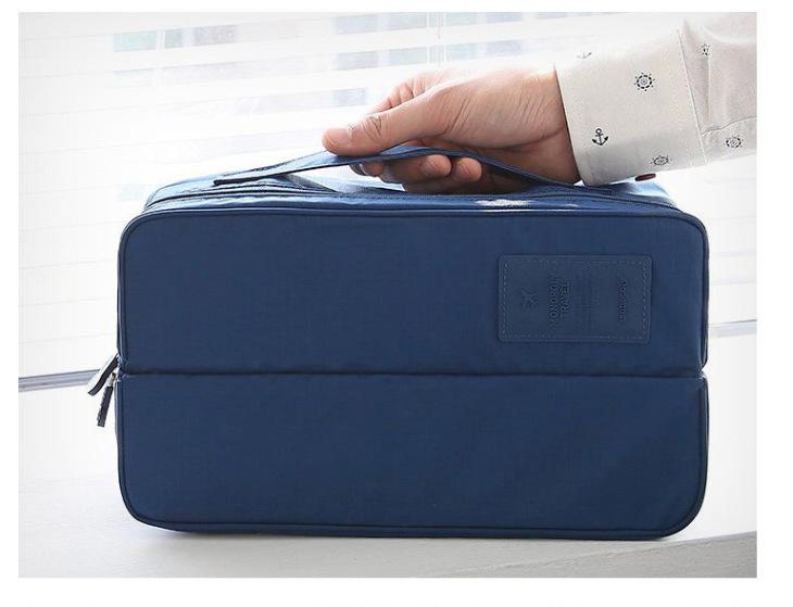 现货供应韩版多功能洗漱包 衣物整理袋袜子包 生活用品收纳包