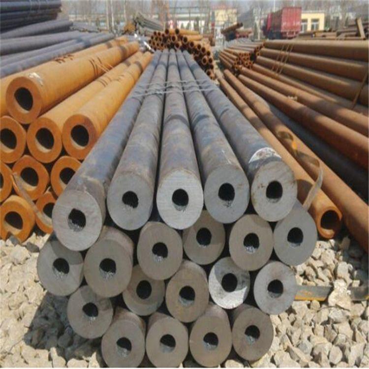 山东翔铭35CrMo合金钢管现货供应42CrMo大口径厚壁合金管切割零售