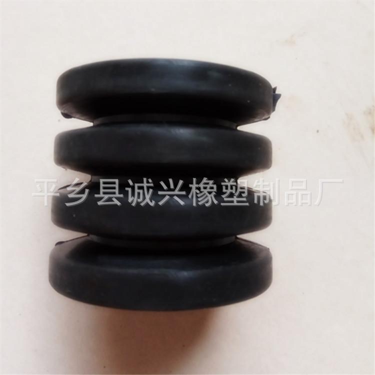 0型圈 弹性垫 联轴器缓冲套 注销丁青橡胶4连体弹性套 橡胶制品