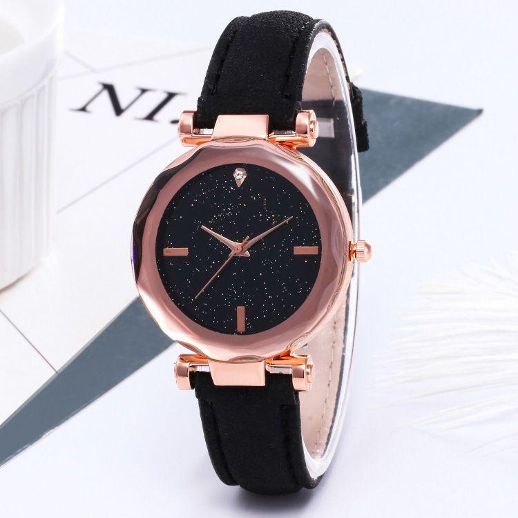 廠家現貨星空微商爆款小紅表 皮帶手表 菱形女款 禮品表女士手表