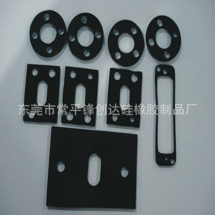 透明硅胶垫圈 3M背胶平面硅胶脚垫 自粘透明硅胶垫片