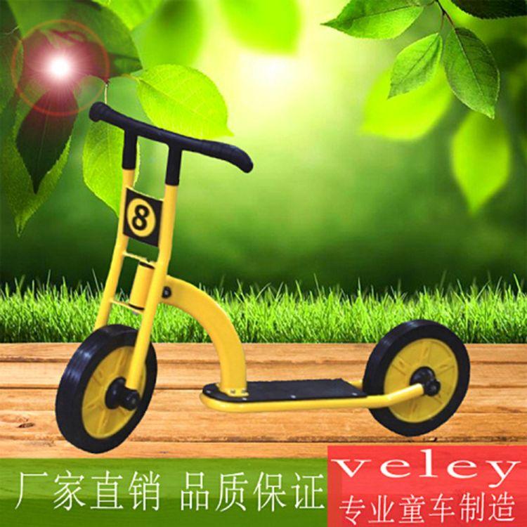 幼教儿童幼儿园专用脚踏车采用环保漆静电烤漆优质幼儿两轮滑板车