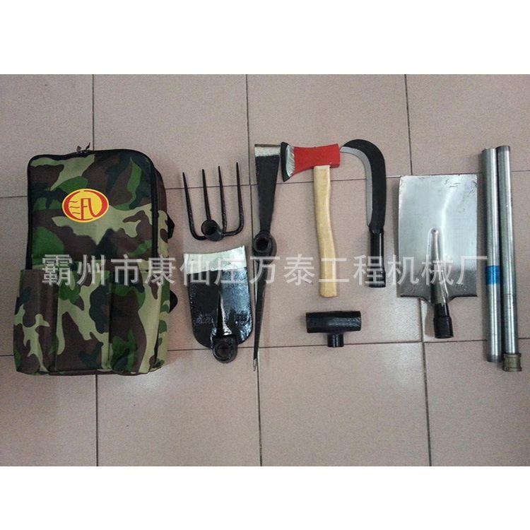 防洪救援工具包 抢险专用多用途组合工具包 多件套组合