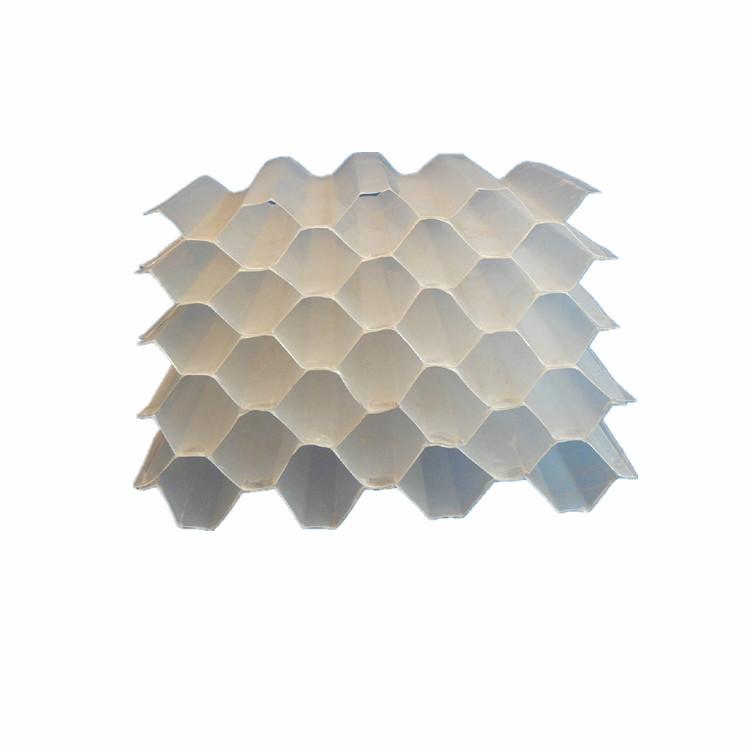 斜管 六角蜂窝斜管填料pp六角蜂窝沉淀池斜管填料冷却塔填料
