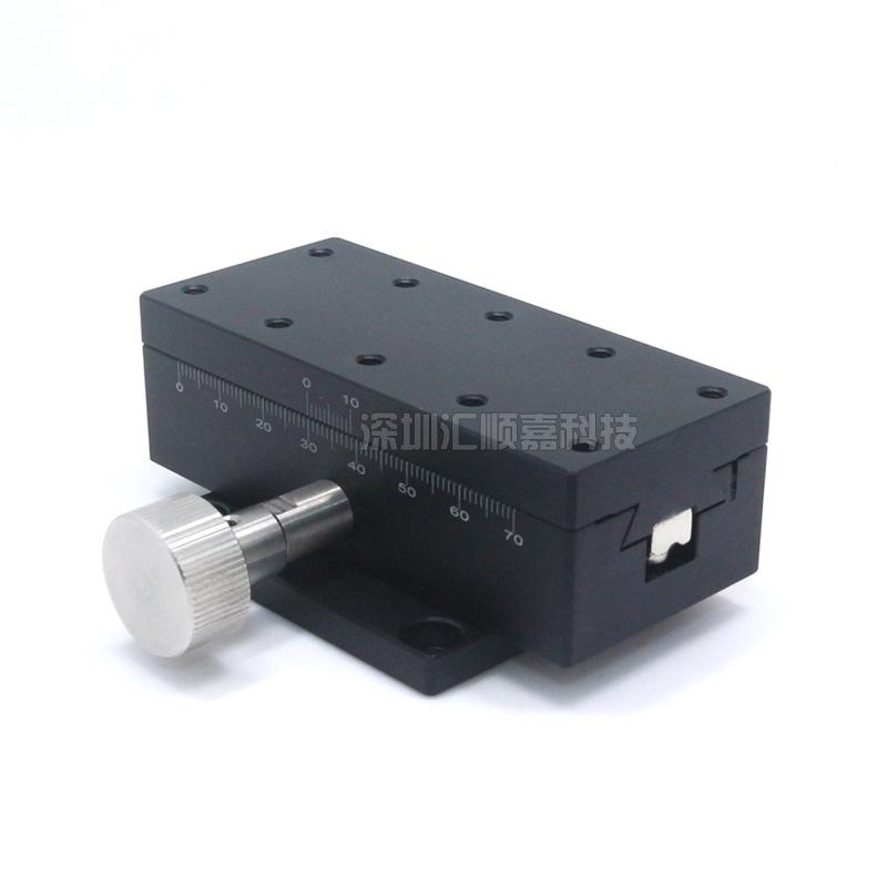 现货X轴燕尾槽手动位移平台±30行程LWX4090光学手动手动对位平台