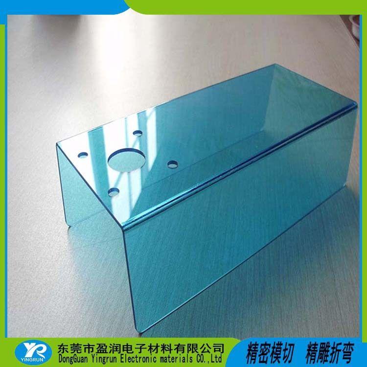 机械防护罩壳PC折弯成型   PC热折弯  PC冷折弯