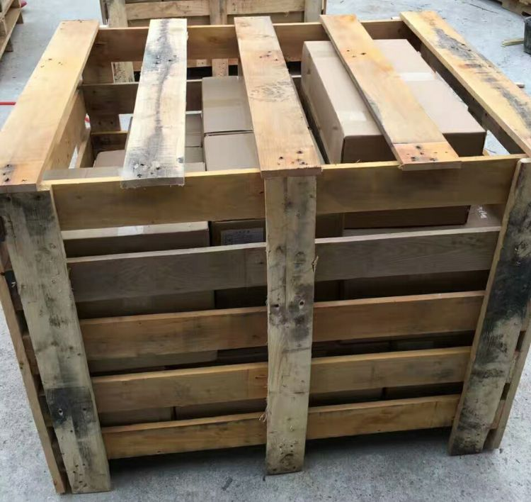 大型机械框架木箱框架实木包装箱上门服 东莞长安定制物流木架