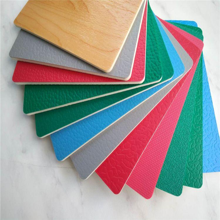 羽毛球篮球场运动地板 荔枝纹 室内球场 运动场PVC地胶塑胶地板