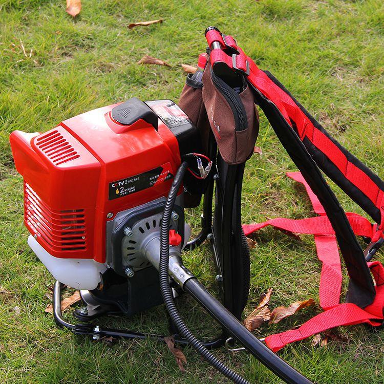 佐崎牌ZQA3新款两冲程背负式割草机割灌机砍草收割厂家直销
