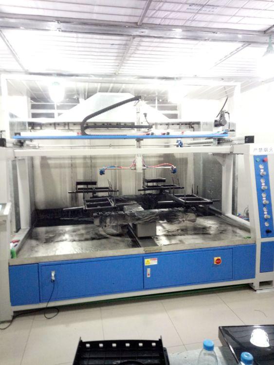 五轴双盘机 自动喷漆设备 五金喷涂自动机械设备 电子喷涂设备