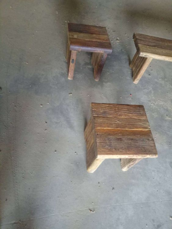 老榆木家具板凳老榆木门板复古风化老门板茶桌