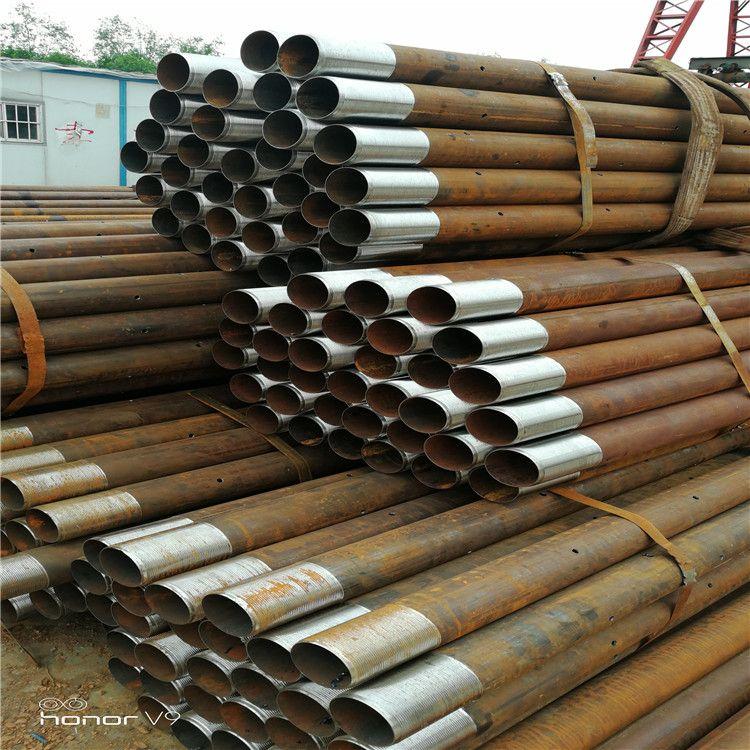管棚管生产   108钢花管 批发   注浆小导管  注浆管