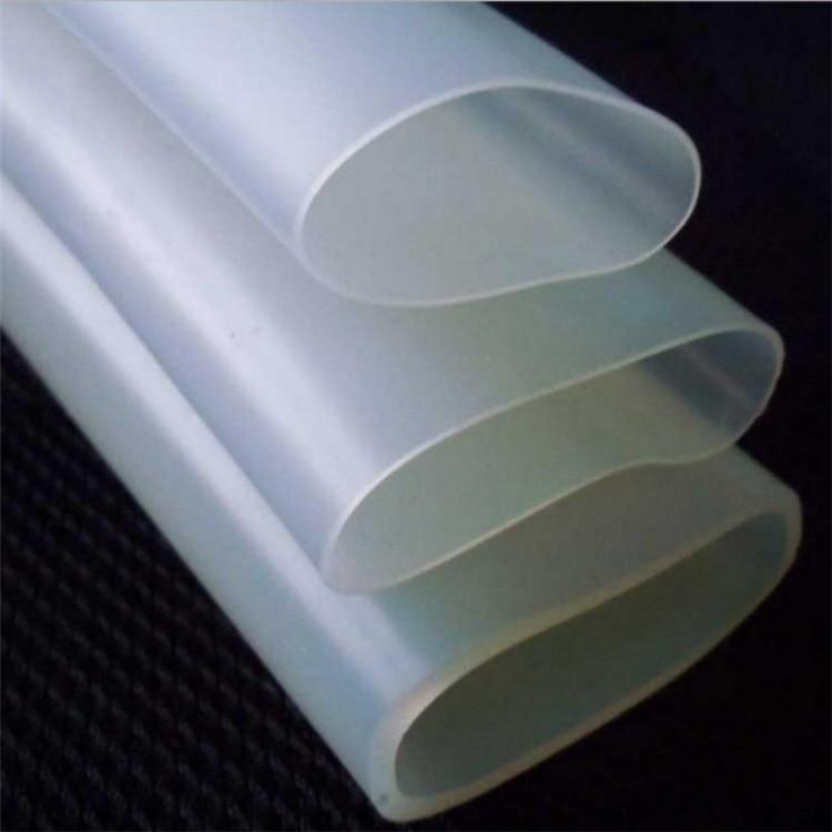厂家供应透明硅胶软管  食品硅胶软管 蓝色透明硅胶管 硅胶挤出管