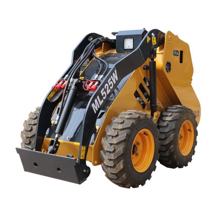 仓库、码头、地下车库必备小型装载机 进口发动机 马力大油耗低