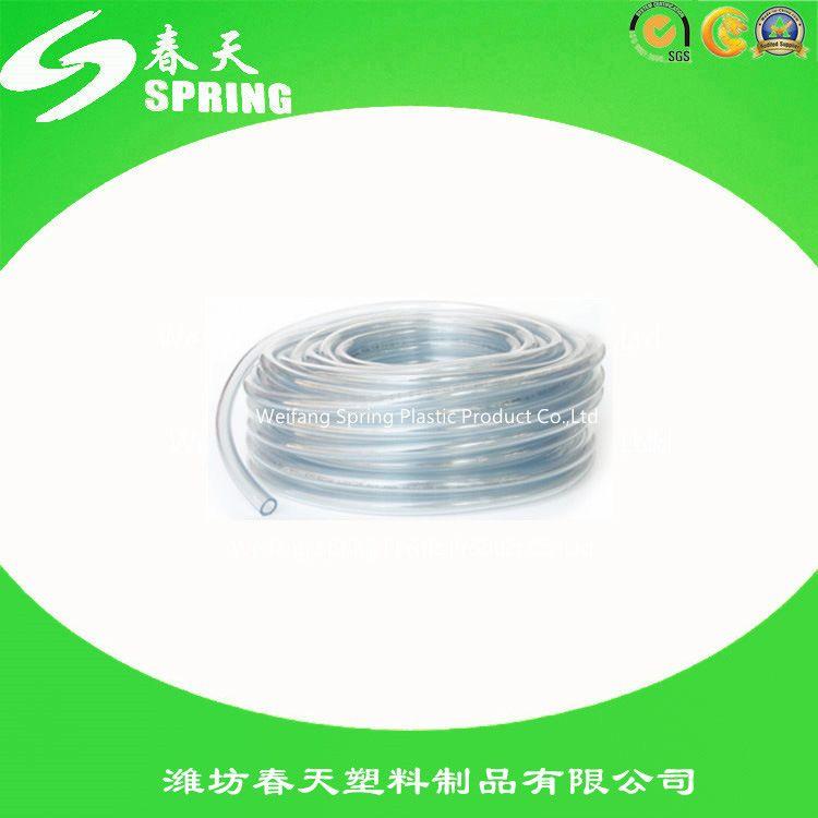 PVC透明管 批发pvc透明水平软管 流体管 透明水平管