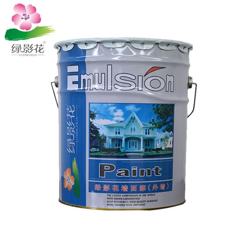 直销外墙乳胶漆 工程白色乳胶漆防水防霉环保水性涂料墙面漆批发