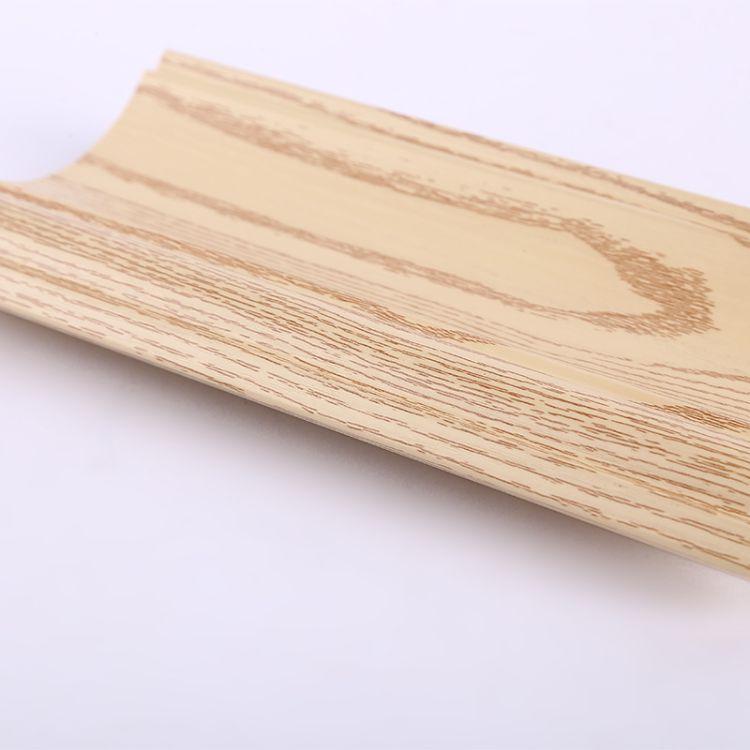 厂家直销100顶角线竹木纤维装饰线条墙面快装板安装角线定制