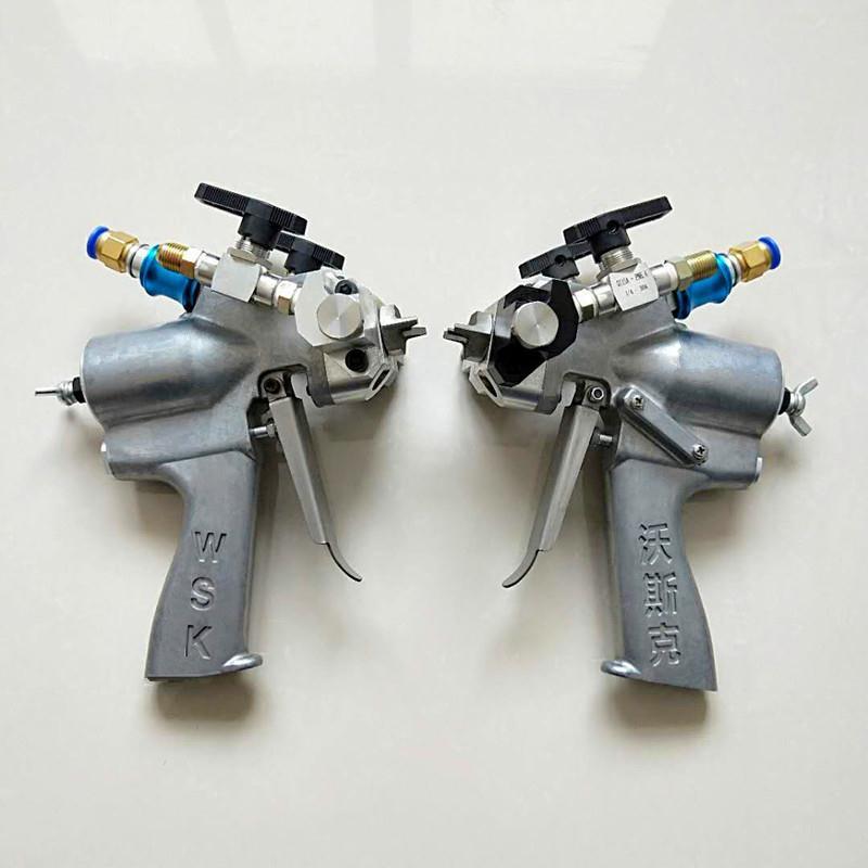 聚氨酯发泡机配件枪头室混合室喷涂机枪头室双组份喷枪浇注枪供应