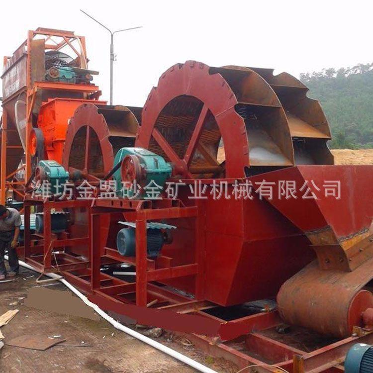 河北洗沙回收一体轮式洗沙机价格 河北带筛分轮式洗沙机多少钱